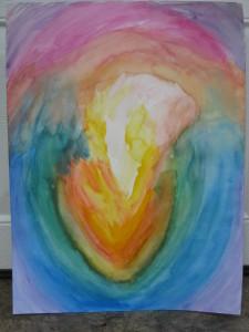 Creating heart